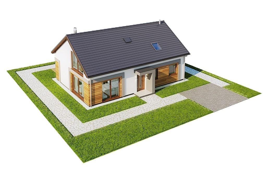 Projekt domu L-6776 - model
