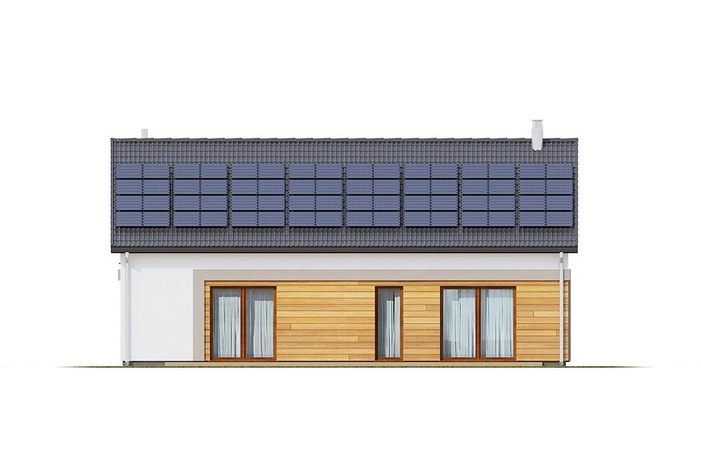 Projekt domu L-6776 - elewacja