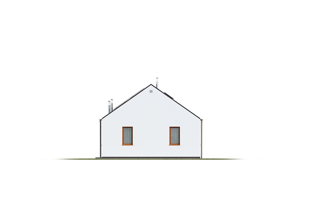 Projekt domu DM-6762 - elewacja