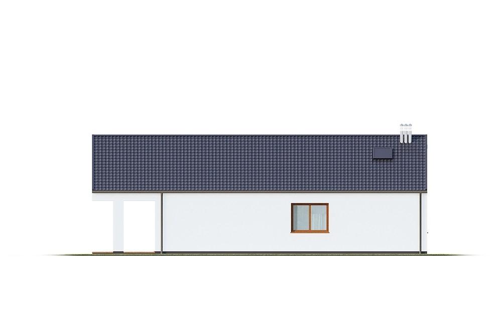 Projekt domu L-6762 - elewacja