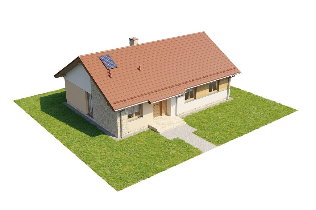 Projekt domu DM-6616 C - model