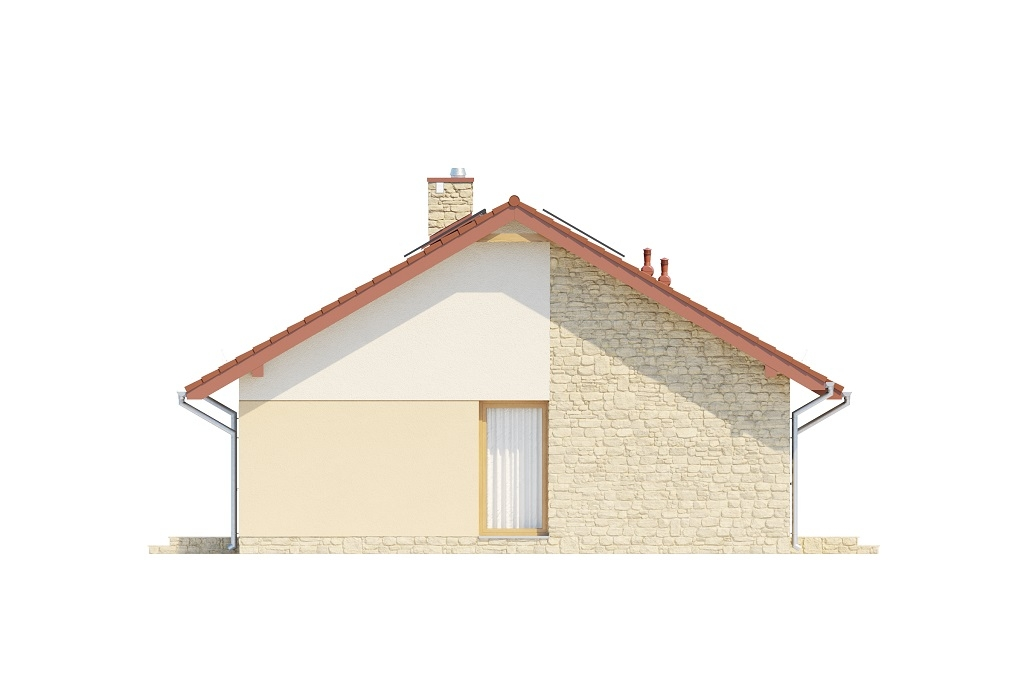 Projekt domu DM-6616 C - elewacja