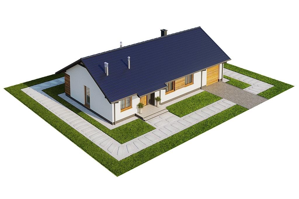 Projekt domu DM-6616 G - model