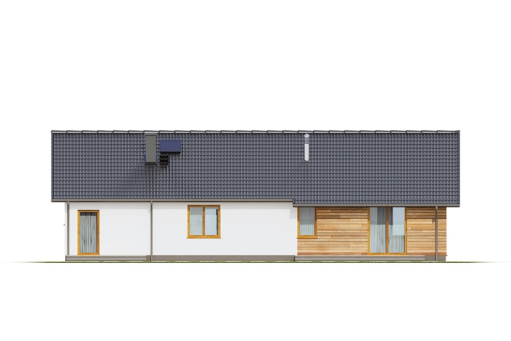 Projekt domu DM-6616 G - elewacja