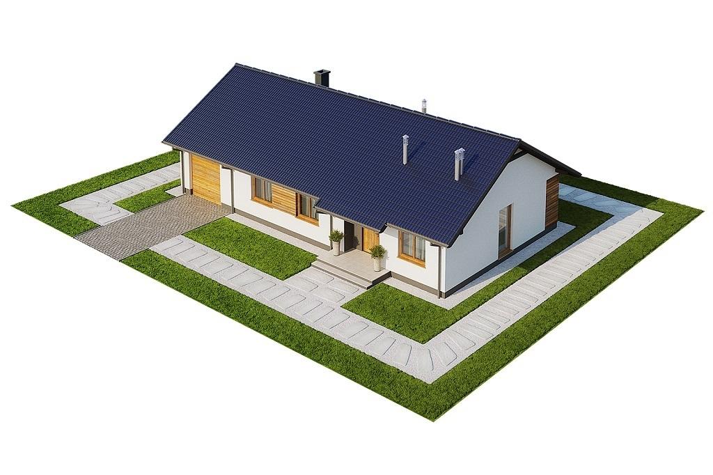 Projekt domu L-6616 G - model