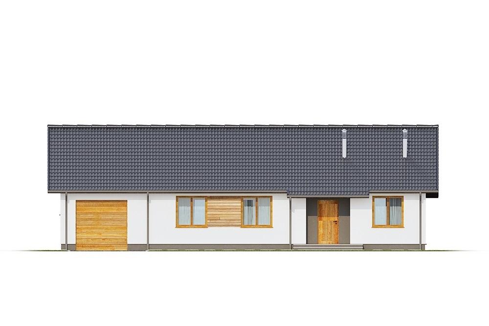 Projekt domu L-6616 G - elewacja