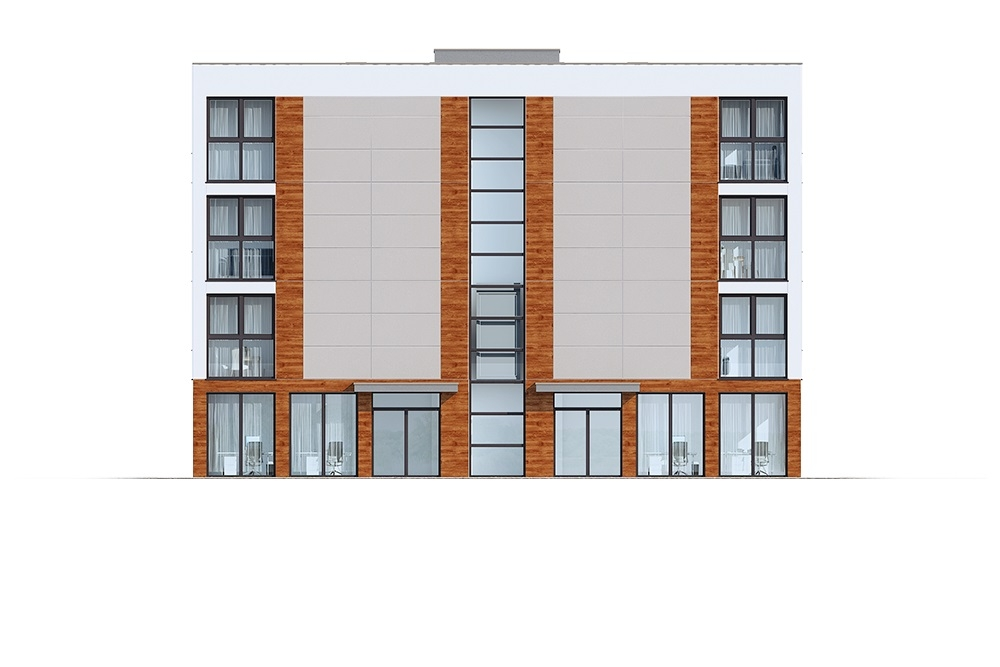 Projekt domu DM-6763 - elewacja