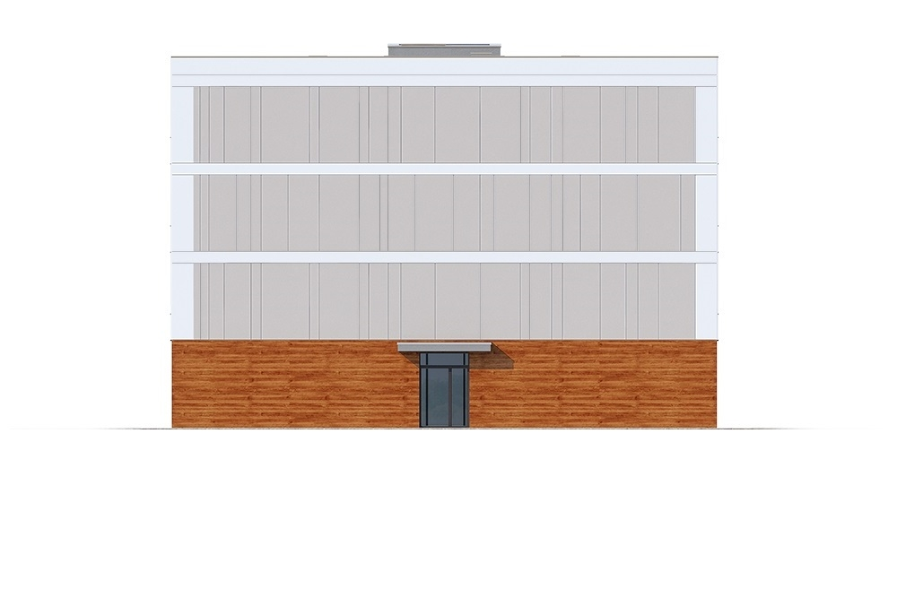 Projekt domu L-6763 - elewacja
