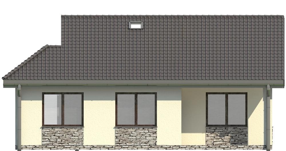 Projekt domu L-5516 - elewacja