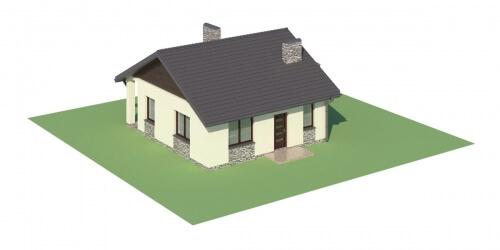 Projekt domu L-5516 - model
