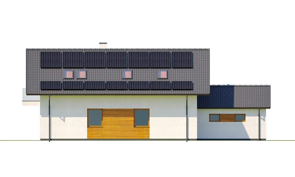 Projekt domu DM-6766 - elewacja