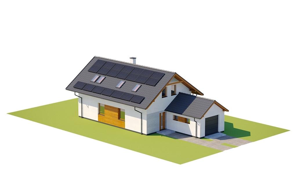 Projekt domu DM-6766 - model