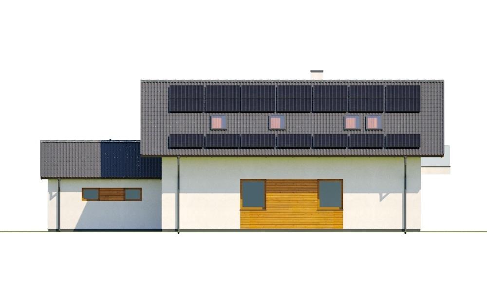 Projekt domu L-6766 - elewacja