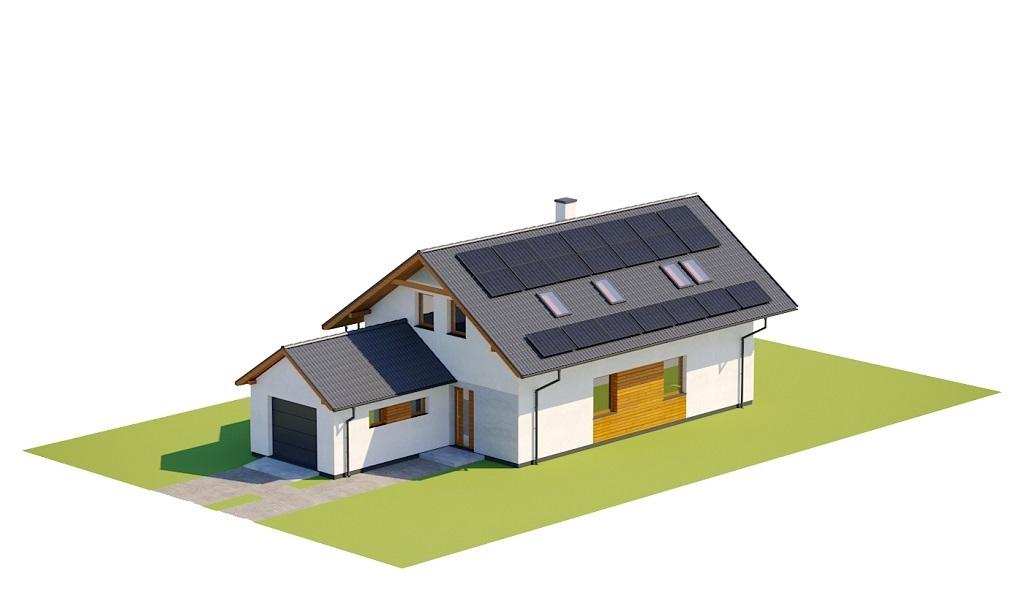 Projekt domu L-6766 - model