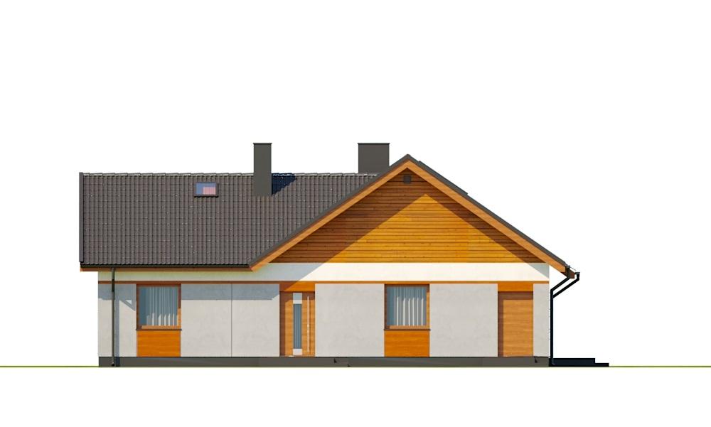 Projekt domu DM-6759B - elewacja