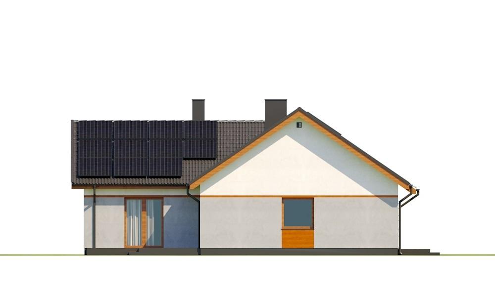 Projekt domu L-6759B - elewacja