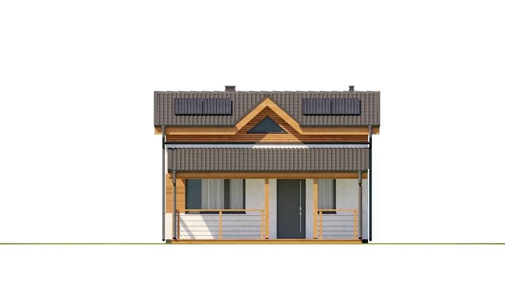 Projekt domu DM-6783 - elewacja