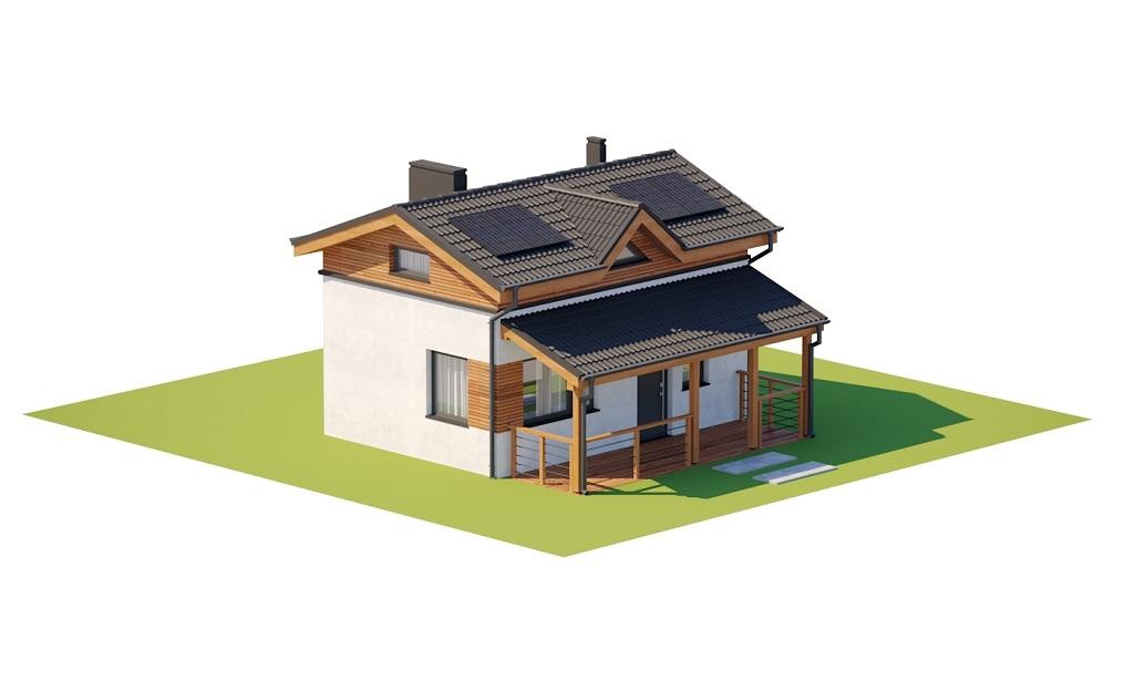 Projekt domu DM-6783 - model