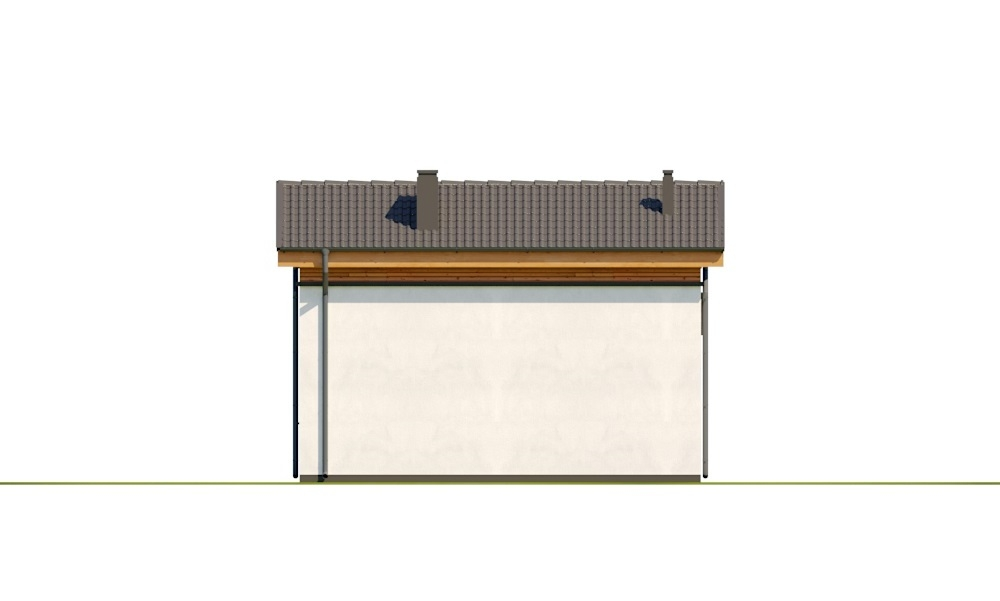 Projekt domu L-6783 - elewacja