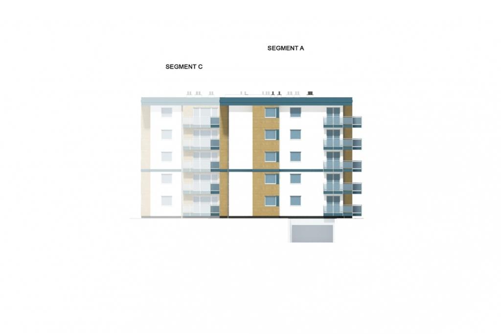 Projekt domu DM-6761 - elewacja