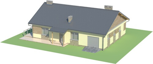 Projekt domu L-5518 - model