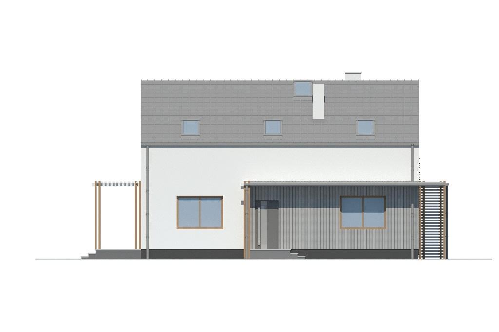 Projekt domu DM-6781 - elewacja