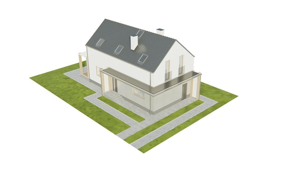 Projekt domu DM-6781 - model