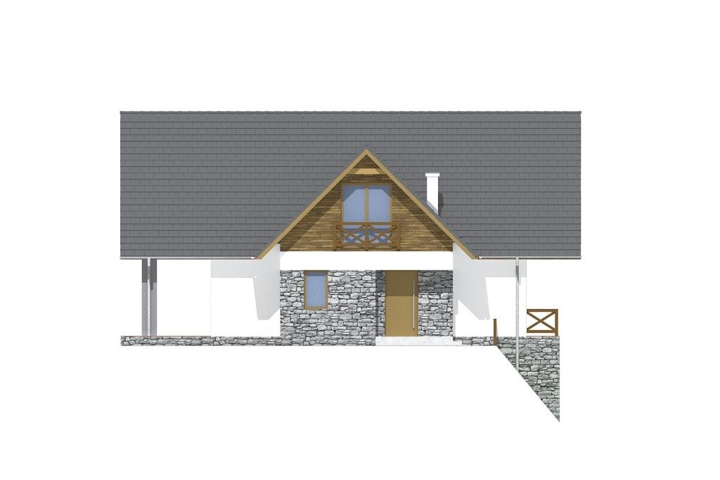 Projekt domu DM-6764 - elewacja