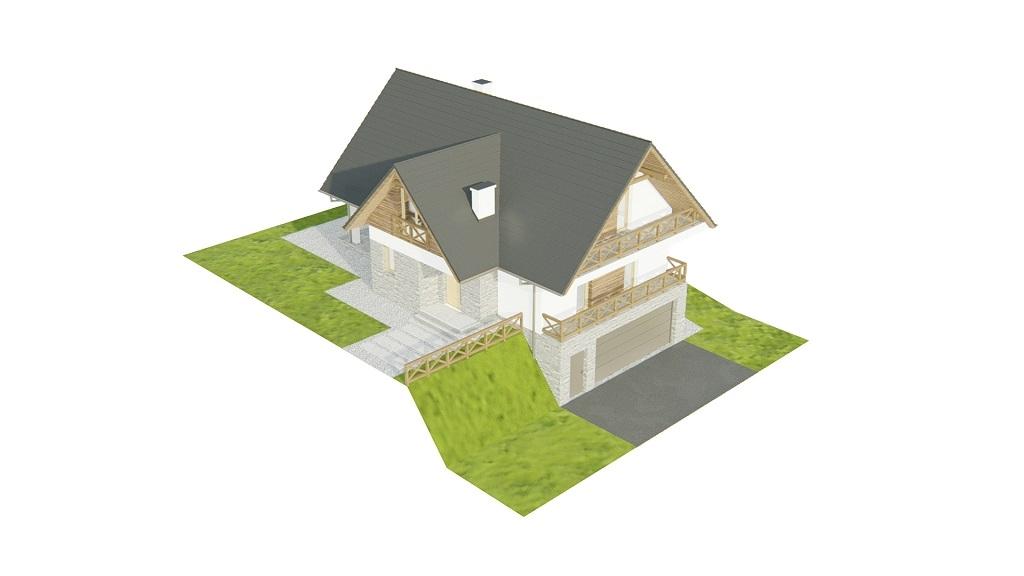 Projekt domu DM-6764 - model
