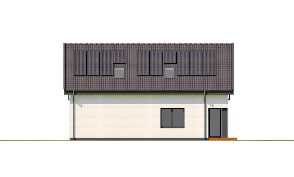 Projekt domu DM-6782 - elewacja