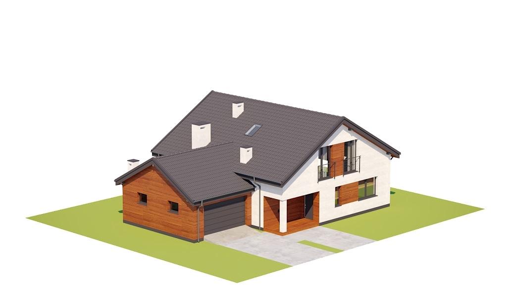 Projekt domu DM-6782 - model