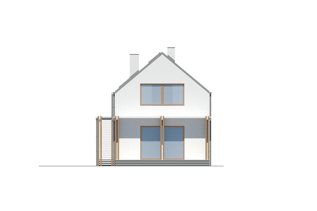 Projekt domu L-6781 - elewacja