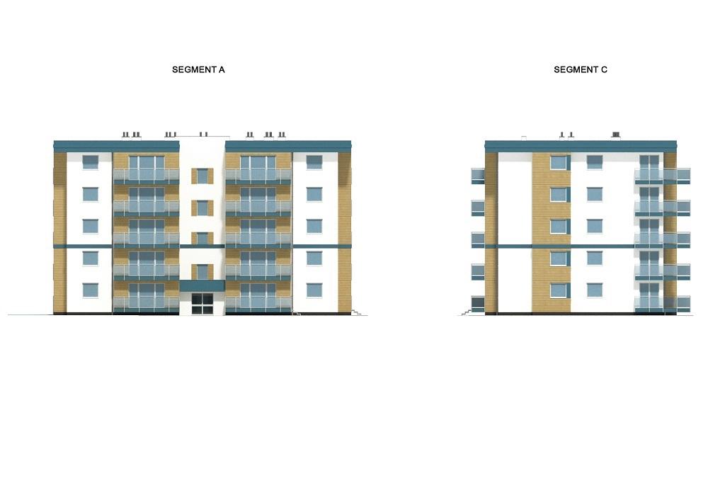 Projekt domu L-6761 - elewacja