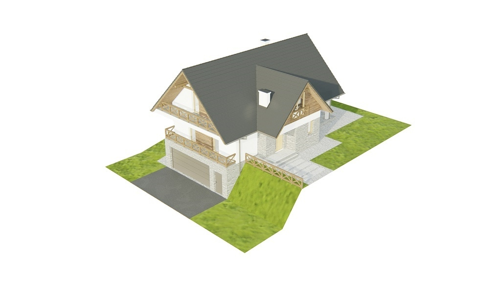 Projekt domu L-6764 - model
