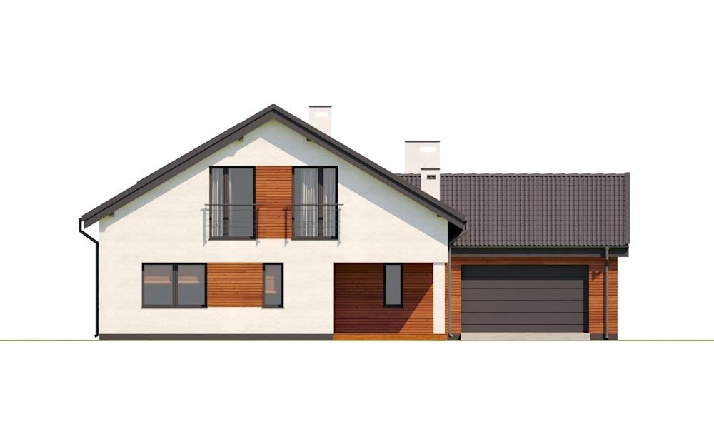 Projekt domu L-6782 - elewacja