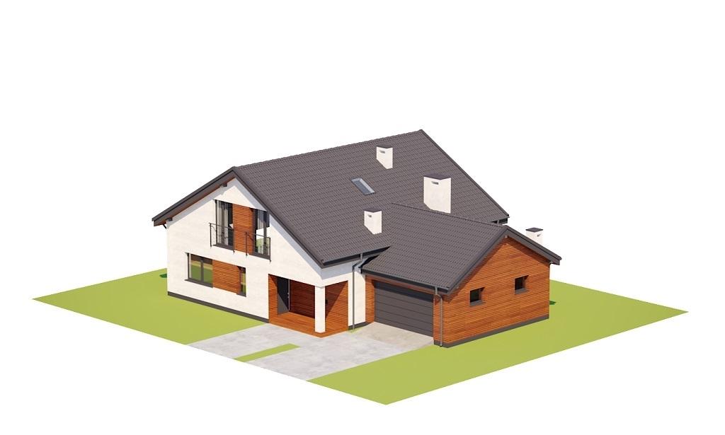 Projekt domu L-6782 - model