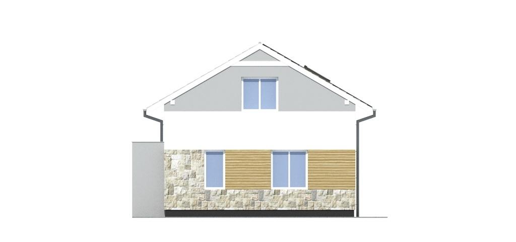 Projekt domu DM-6771 - elewacja
