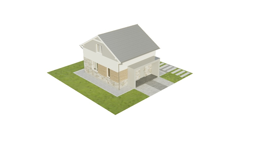 Projekt domu DM-6771 - model