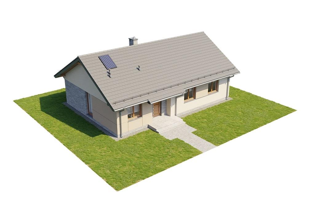 Projekt domu DM-6616 D - model
