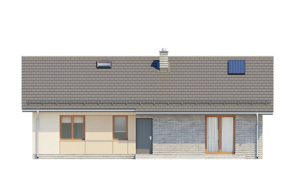 Projekt domu DM-6616 D - elewacja