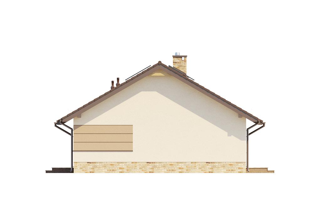 Projekt domu DM-6616 H - elewacja