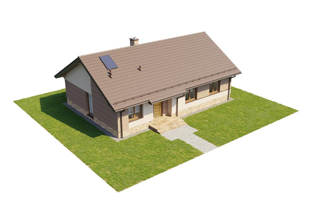 Projekt domu DM-6616 H - model