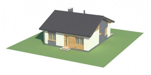 Projekt domu L-5519 - model