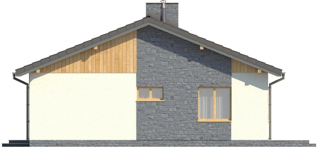 Projekt domu L-5519 - elewacja