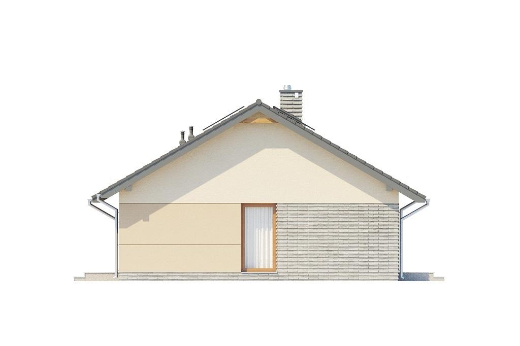 Projekt domu L-6616 D - elewacja