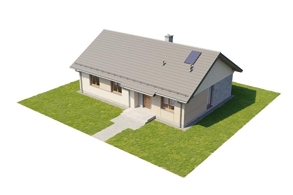 Projekt domu L-6616 D - model