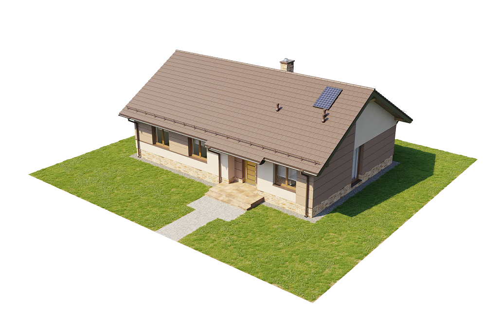 Projekt domu L-6616 H - model