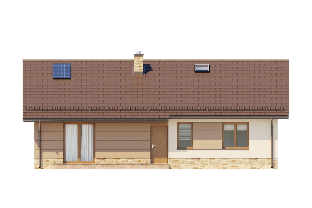 Projekt domu L-6616 H - elewacja