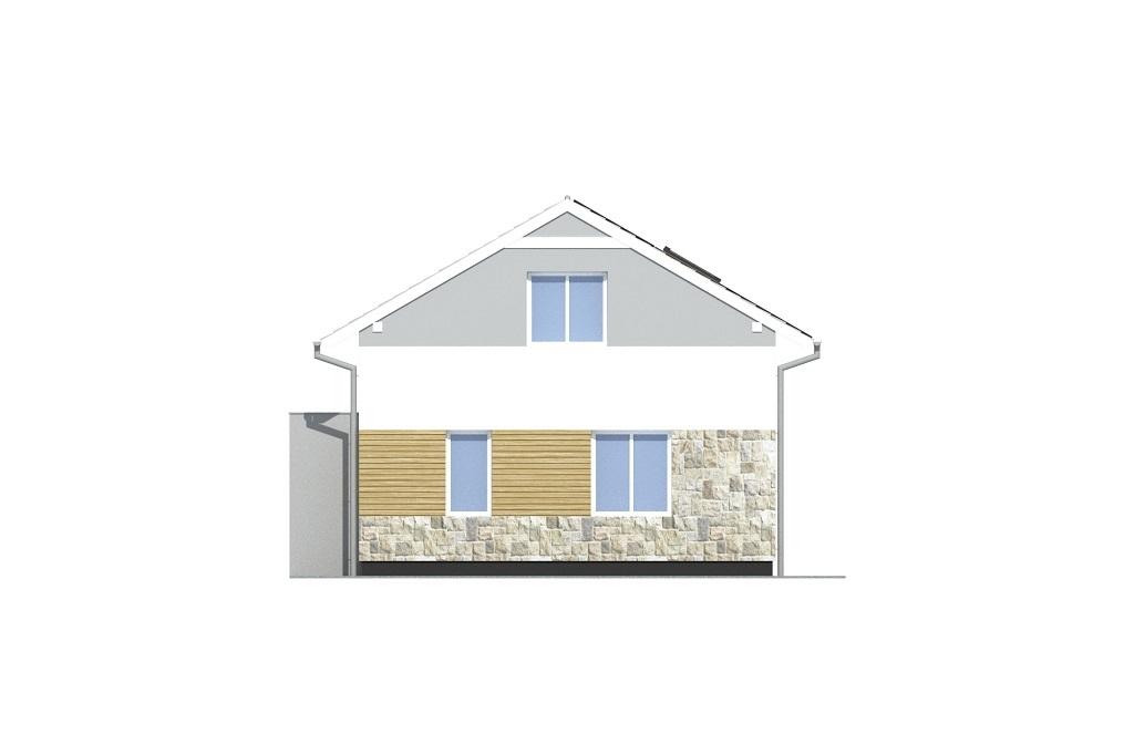 Projekt domu L-6771 - elewacja