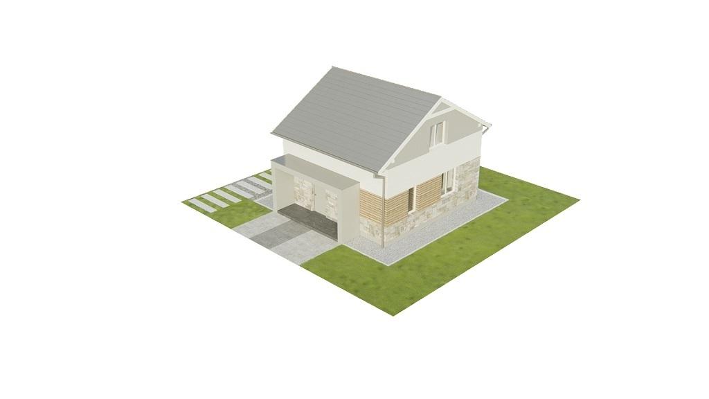 Projekt domu L-6771 - model